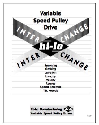 Image of the front page of the Interchange document