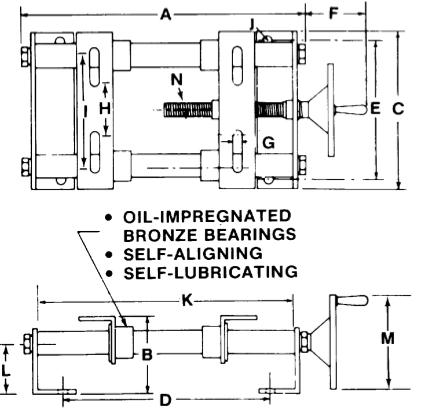 Hi-Lo Adjustable Motor Bases Models 213, 254 and 284